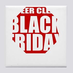 Black-Friday Tile Coaster