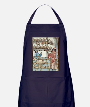 Medieval physician and pharmacist Apron (dark)