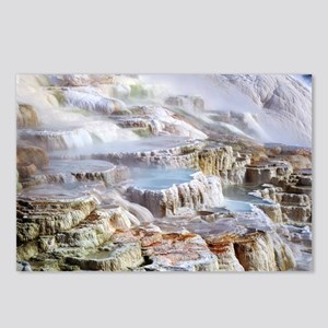 Mammoth Hot Springs miner Postcards (Package of 8)
