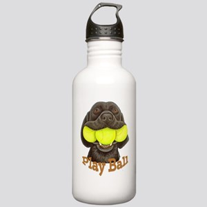 Play Ball, Labrador wi Stainless Water Bottle 1.0L