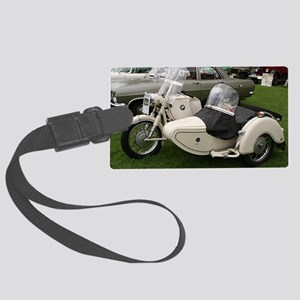BMW Motorcycle with Sidecar Large Luggage Tag