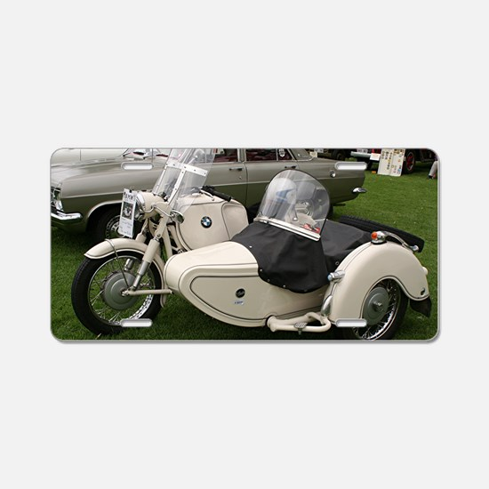 BMW Motorcycle with Sidecar Aluminum License Plate