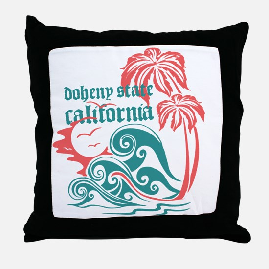 Wavefront Doheny State Throw Pillow