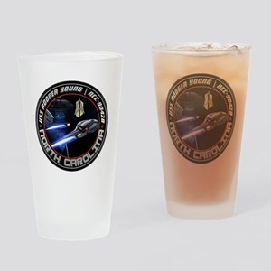 USS Rodger Young Logo Image Drinking Glass