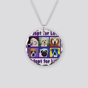 Adopt for Love, Adopt for Li Necklace Circle Charm