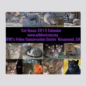 2013 Calendar Cover Throw Blanket