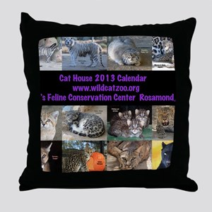 2013 Calendar Cover Throw Pillow