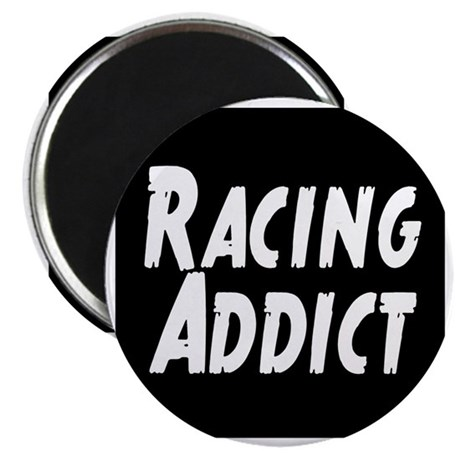 Racing addict Magnet
