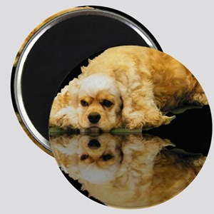 Cocker Reflection Magnet