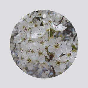Cherry blossoms Round Ornament