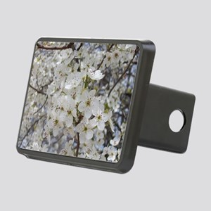 Cherry blossoms Rectangular Hitch Cover