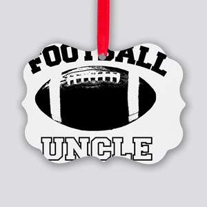 Football Uncle Picture Ornament