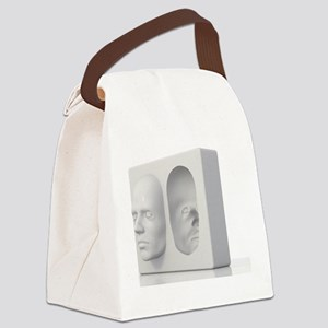 Hollow-face illusion,artwork Canvas Lunch Bag