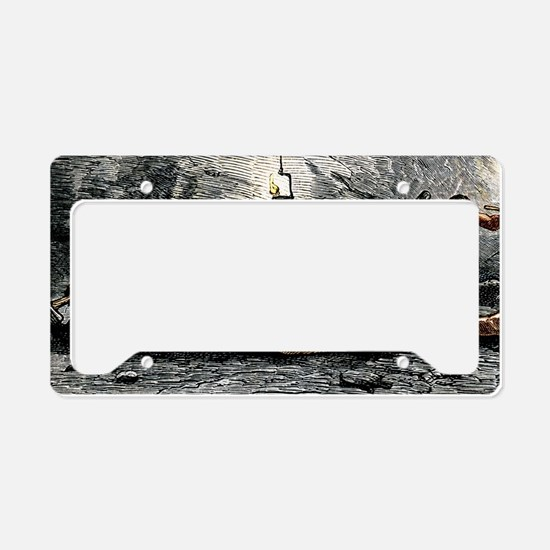 Holing at a coalface License Plate Holder