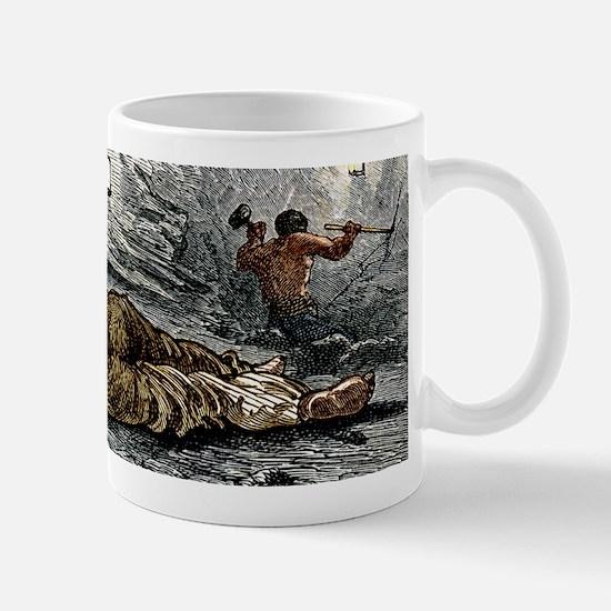 Holing at a coalface Mug