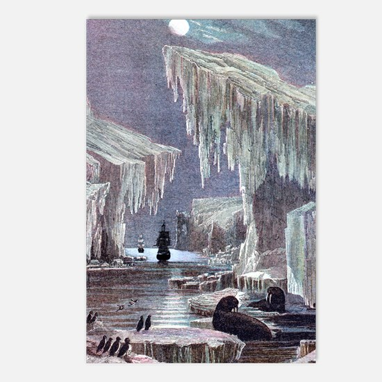 HMS Erebus and HMS Terror Postcards (Package of 8)