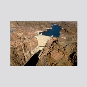 Hoover hydroelectric dam, Colorad Rectangle Magnet
