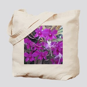 purple orchid cluster Tote Bag