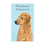 Rhodesian Ridgeback Sticker (Rectangle 50 pk)