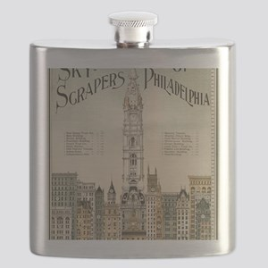 Skyscrapers Of Philadelphia Flask