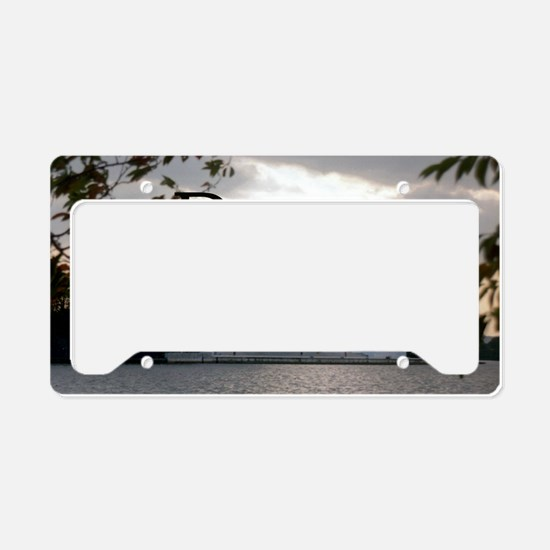 Thomas Jefferson wisdom License Plate Holder
