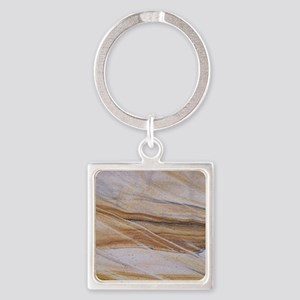 Sandstone Square Keychain
