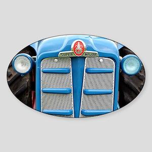 Fordson Super Major Tractor Sticker (Oval)
