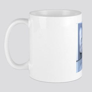 Hollow-face illusion,artwork Mug