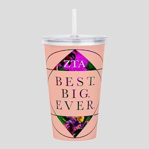 Zeta Tau Alpha Best Bi Acrylic Double-wall Tumbler