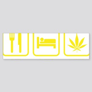 EatSleepWeed1D Sticker (Bumper)