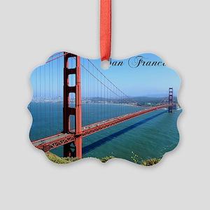 SF_10X8_GoldenGateBridge Picture Ornament