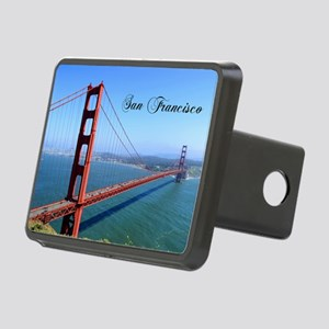 SF_10X8_GoldenGateBridge Rectangular Hitch Cover