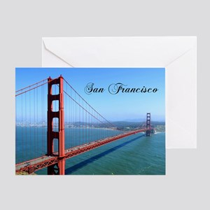 SF_10X8_GoldenGateBridge Greeting Card