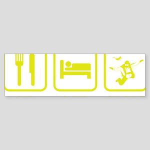 EatSleepSkydive1E Sticker (Bumper)