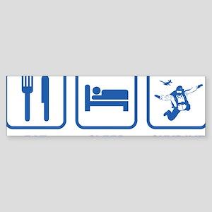 EatSleepSkydive1D Sticker (Bumper)