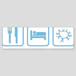 EatSleepSkydive2D Sticker (Bumper)
