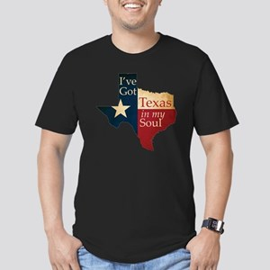 Ive Got Texas in my So Men's Fitted T-Shirt (dark)