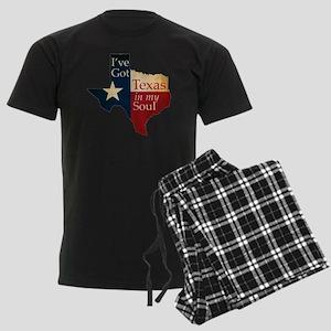 Ive Got Texas in my Soul Men's Dark Pajamas