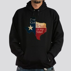 Ive Got Texas in my Soul Hoodie (dark)