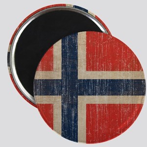 Vintage Norway Flag Magnet