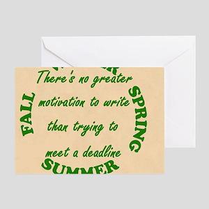 Mousepad Greeting Card