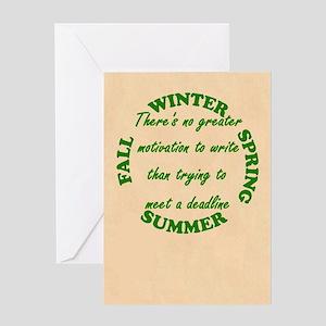 Journal Greeting Card