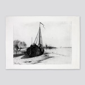 Low Tide On Dutch River - Blanche Dillaye - c1900