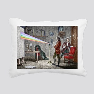 Newton's optics Rectangular Canvas Pillow