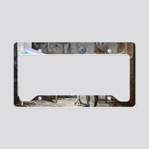 Newton's optics License Plate Holder