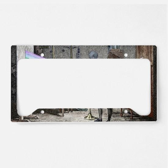 Newton's optics License Plate Holder