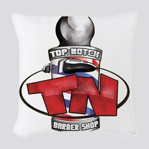 Top Notch Woven Throw Pillow