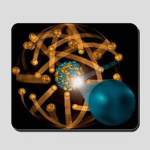 Nuclear fission, artwork Mousepad