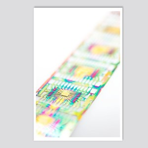 Microprocessor chips Postcards (Package of 8)