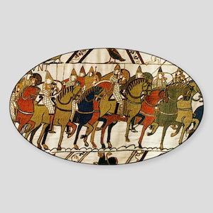 Bayeux Tapestry Sticker (Oval)